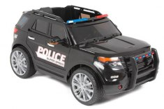 Ford Explorer Police Black