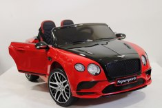 BENTLEY CONTINENTAL SUPERSPORTS JE1155 красный