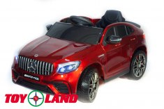 Mercedes-Benz AMG GLC63 Coupe 4X4 красный краска