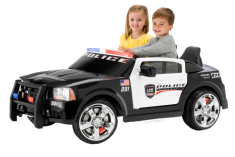 Kid Trax Dodge Police Car