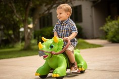 Kid Trax Rideamals Dino Toddler Ride-On