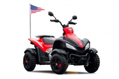 Dongma ATV Red 12V DMD 268A LUX