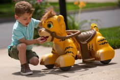 Kid Trax Rideamals Tiger Toddler