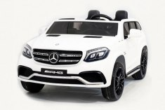Mercedes Benz GLS63 LUXURY 4x4 12V 2.4G - White