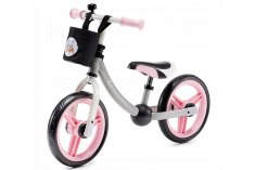 Kinderkraft Balance bike 2way next light pink с аксессуарами