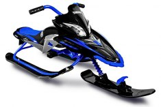 YAMAHA Apex SNOW BIKE Titanium black/blue