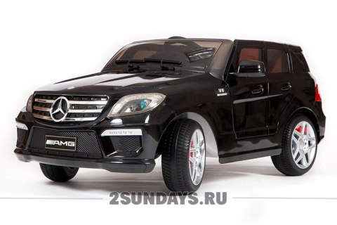 Mercedes-Benz ML63 черный