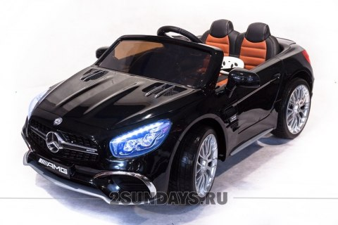 Mercedes-Benz SL65 черный