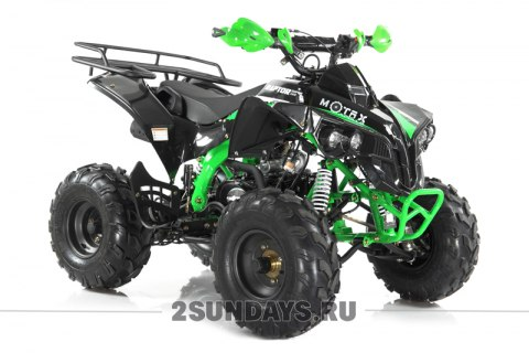 MOTAX ATV Raptor Super LUX 125 cc черно-зеленый