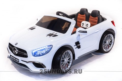 Mercedes-Benz SL65 белый