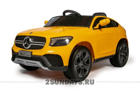 Mercedes-Benz Concept GLC Coupe BBH-0008 желтый глянец