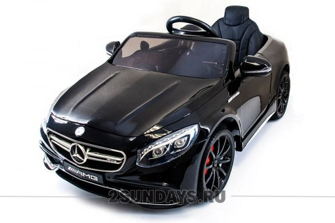 Mercedes-Benz S63 LUXURY HL169 черный