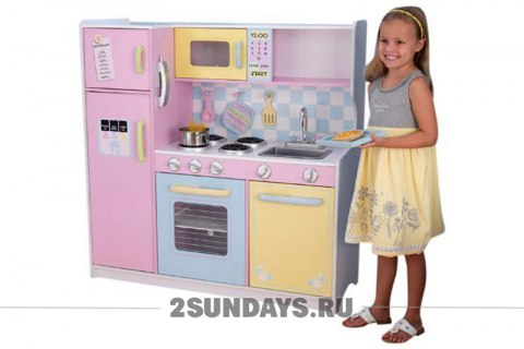 LARGE PASTEL KITCHEN KIDKRAFT