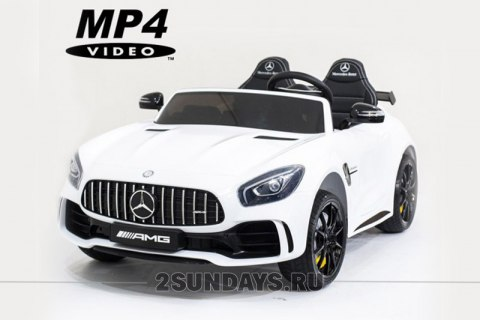 Mercedes-Benz GT R 4x4 MP4 - HL289-WHITE-4WD-MP4