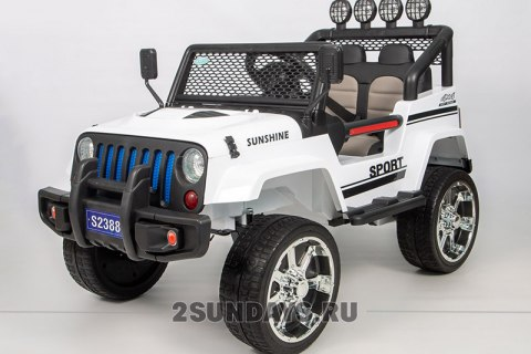 Barty JEEP S2388 белый