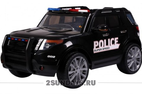Ford Explorer Police T111MP черный