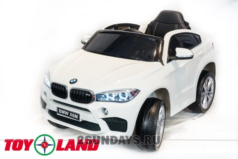 BMW X6M mini JJ2199 белый