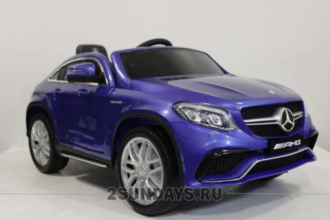 Mercedes-Benz AMG GLE63 Coupe M555MM синий глянец