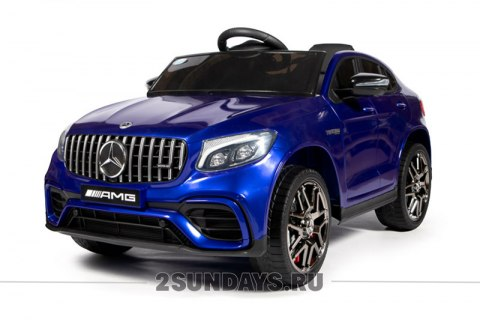 Mercedes-Benz AMG GLC63 Coupe S 4WD синий глянец