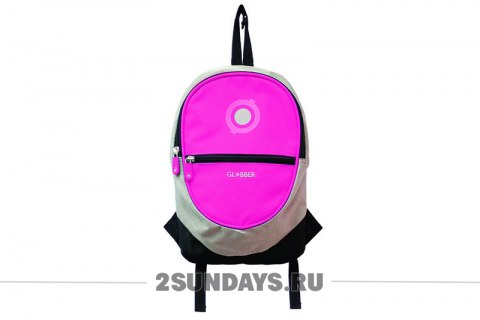 GLOBBER BACKPACK JUNIOR розовый
