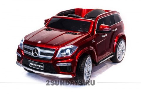 Mercedes-Benz GL63 красный