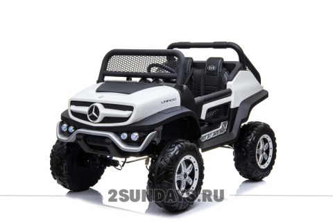 Mercedes-Benz Concept 4WD белый