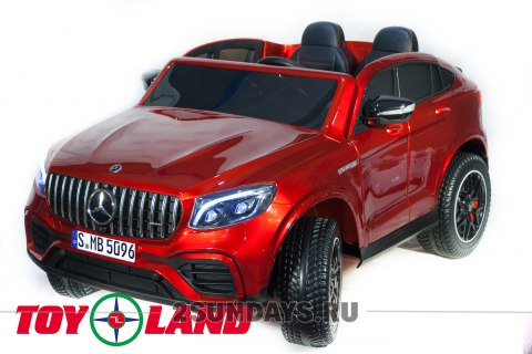 Mercedes-Benz AMG GLC63 2.0 Coupe 4X4 красный краска