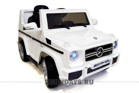 Mercedes-Benz G65 LS528 белый лицензия