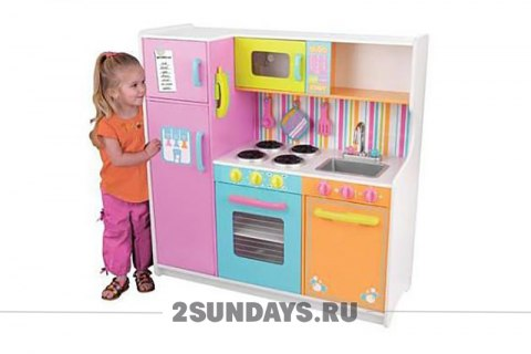 DELUXE BIG & BRIGHT KITCHEN KIDKRAFT