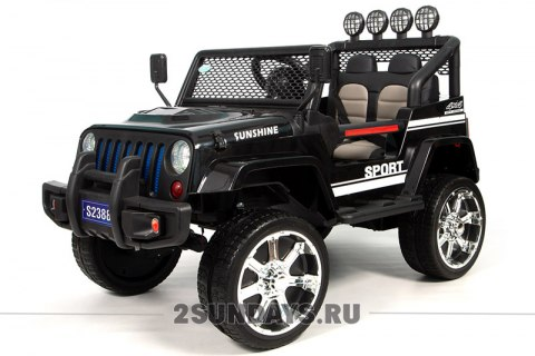 Barty JEEP S2388 черный