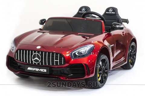 Mercedes-Benz GT R 4x4 MP3 - HL289-RED-PAINT-4WD