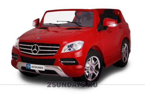 Mercedes-Benz ML-350 красный