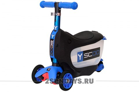 3в1 Y-SCOO Mini JumpGo dark blue
