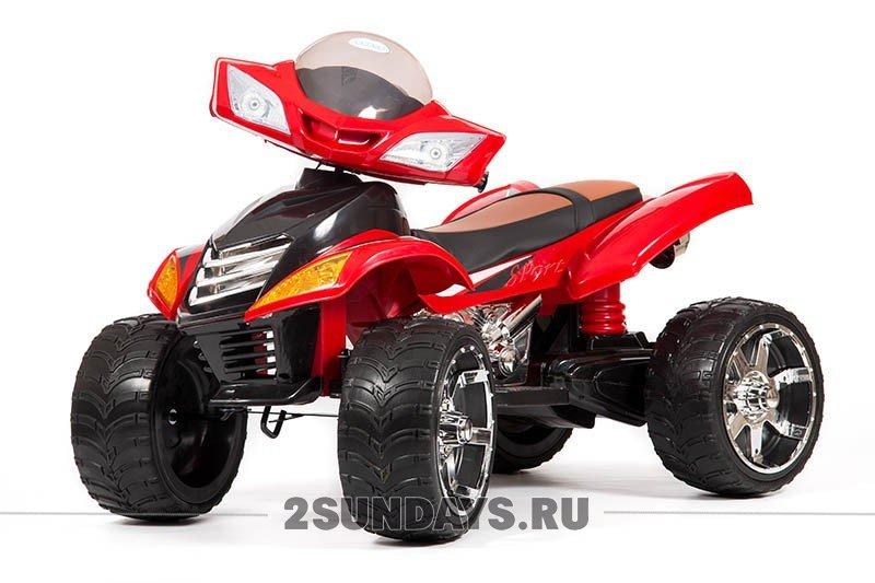 Детский электроквадроцикл BARTY Quad Pro красный
